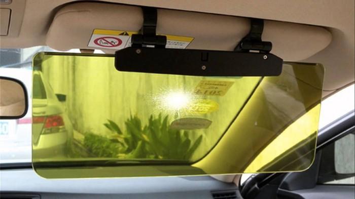 Солнцезащитный козырек на авто своими руками