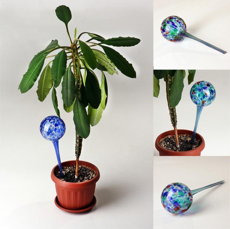 Шары для полива растений Аква Глоб (Aqua Globes) - 2 шт. Большие