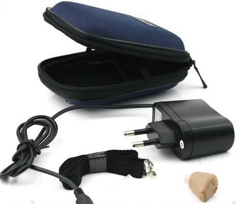 Слуховой аппарат AXON K-88 с зарядкой и аккумулятором
