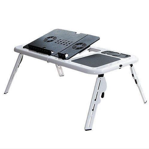 Портативный складной столик для ноутбука с охлаждением ролик массажер фото