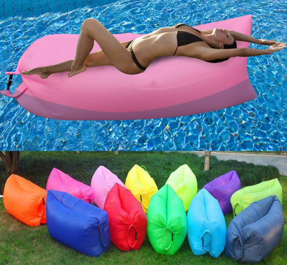 Надувной диван-мешок Air Buddy | Lamzac