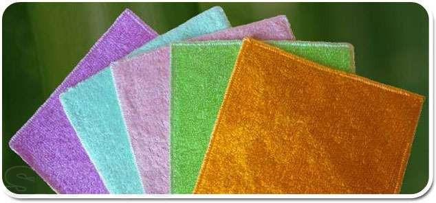 Тряпка для мытья без моющего средства (бамбуковая салфетк
